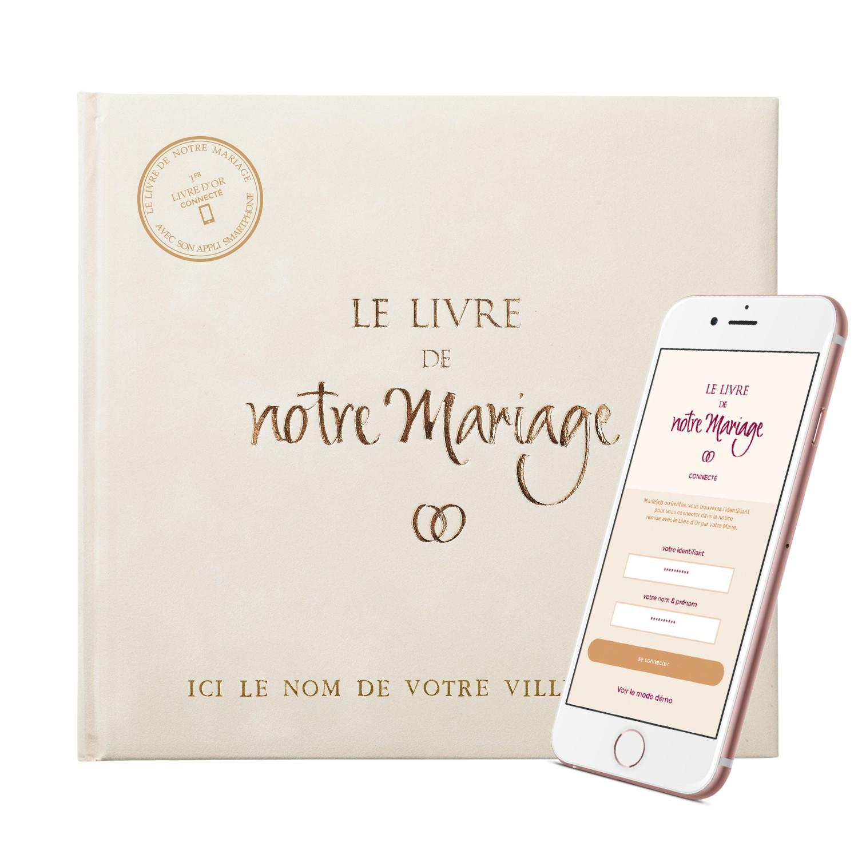 Le livre de notre mariage s 39 enrichit d 39 une application for Le livre de mariage