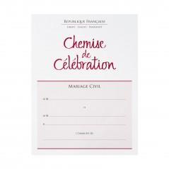 La Chemise de célébration de mariage