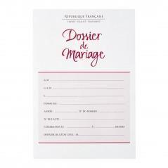Notre dossier de mariage à transmettre au Tribunal