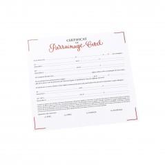 Certificat de parrainage civil