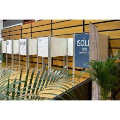 ISOLIB - L'isoloir sans rideau, sans contact
