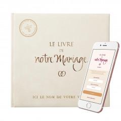 """""""Le Livre de Notre Mariage"""", un cadeau idéal et personnalisable pour vos cérémonies."""