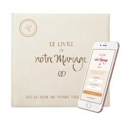 Le Livre de Notre Mariage + son application smartphone = Le 1er Livre d'or connecté