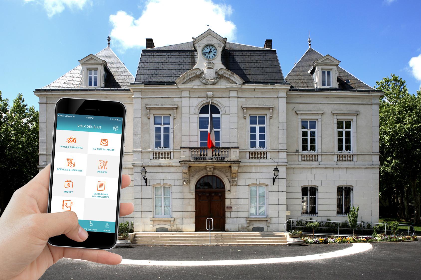 Happy citoyen, une application mobile innovante pour votre commune